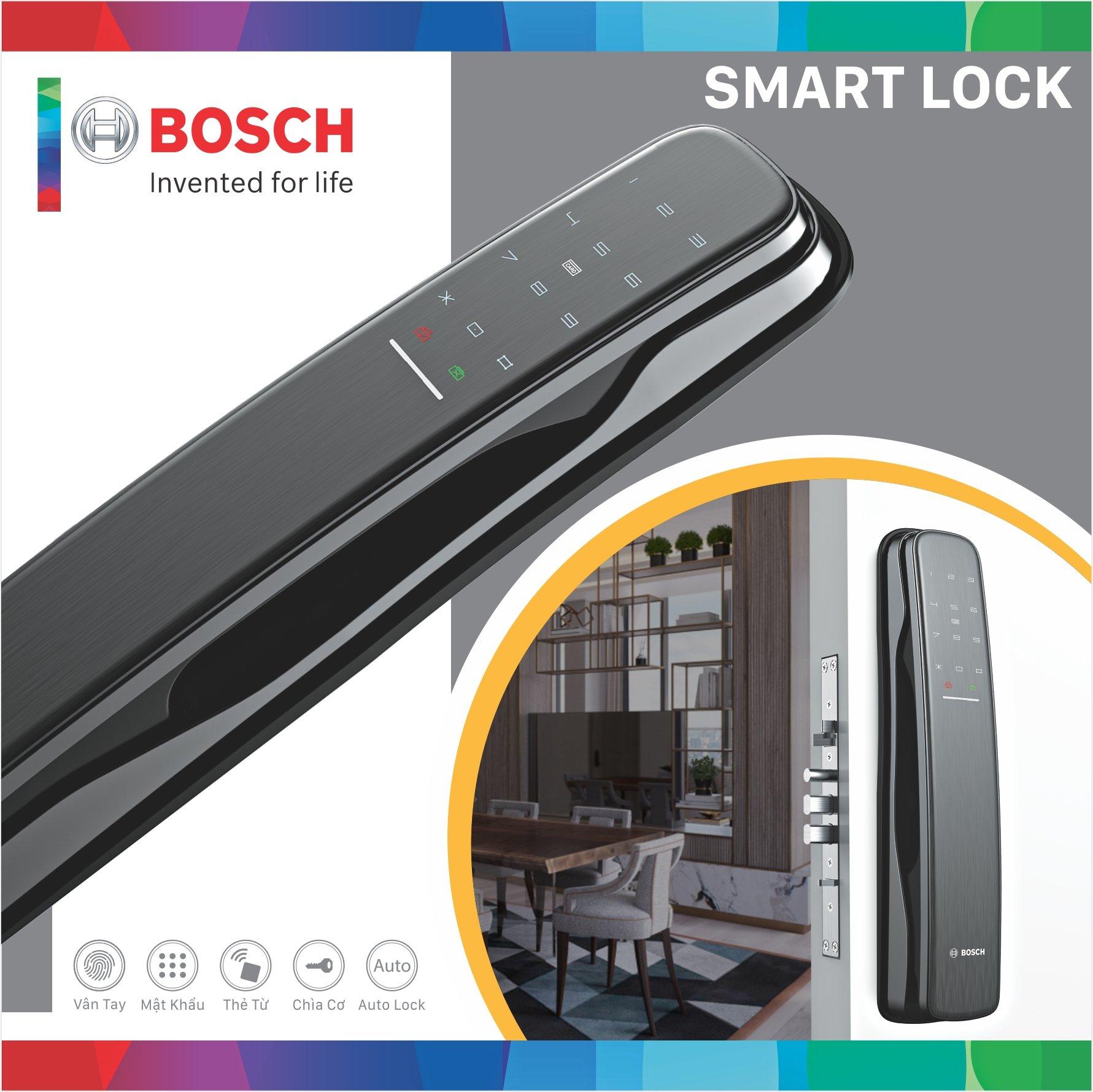 Tính năng nổi bật của khóa cửa vân tay Bosch EL800