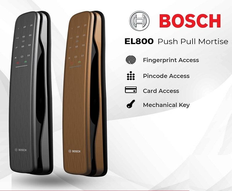 Khóa cửa vân tay Bosch EL800