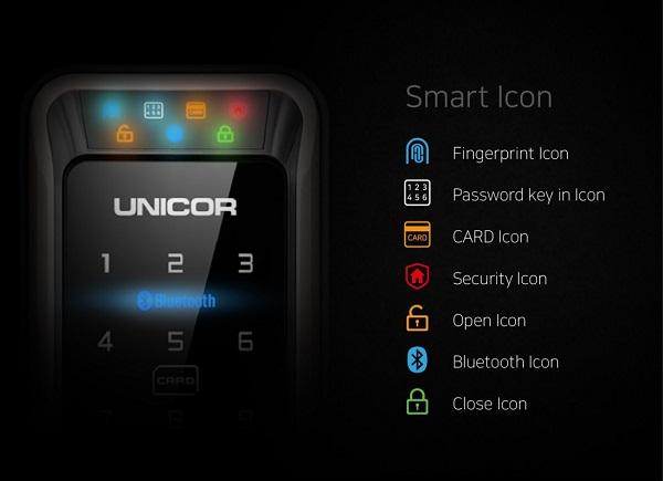 Mở khóa bằng tính năng thẻ từ, mã số và chìa cơ